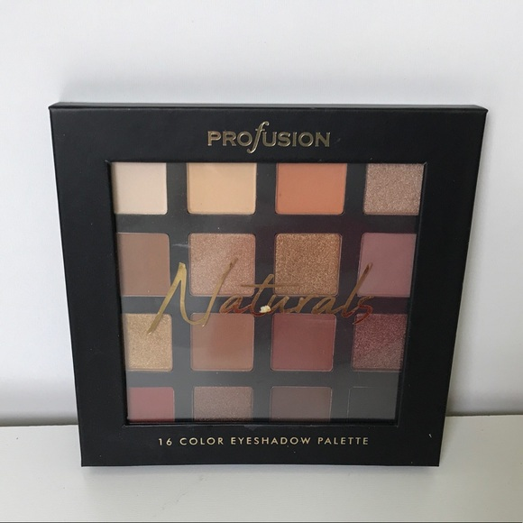 Profusion Cosmetics Other - PROFUSIONS  Natural 16 Color Eye Palette NIB